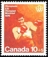 Canada B8 Stamp Olympic Boxing Stamp NA C B8-1 MNH