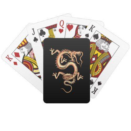 Mystical Dragon Playing Cards - individual customized designs custom gift ideas diy