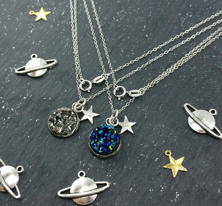 Check out https://www.etsy.com/uk/shop/Mopatopshop for some seriosly cosmic jewellery inspiration, all personlaised for you to show you own the heavens above!