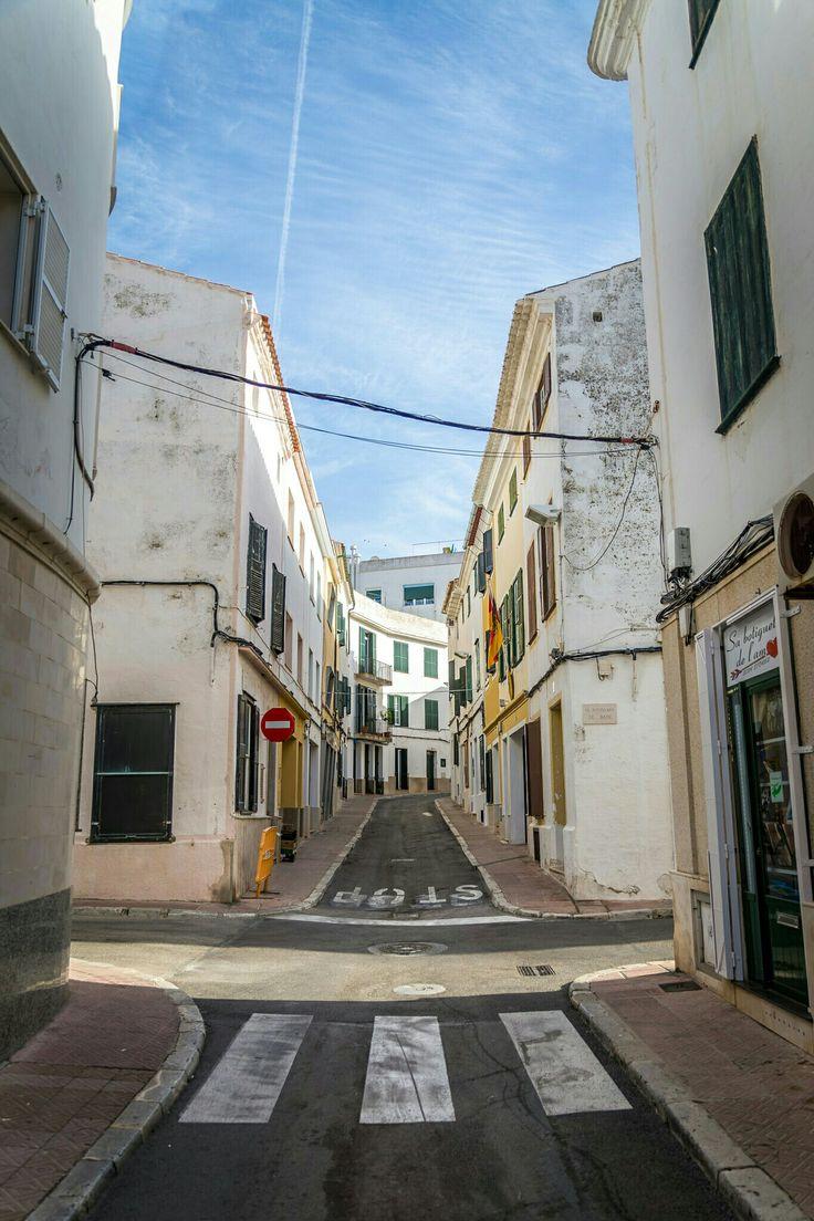 Alley in Menorca