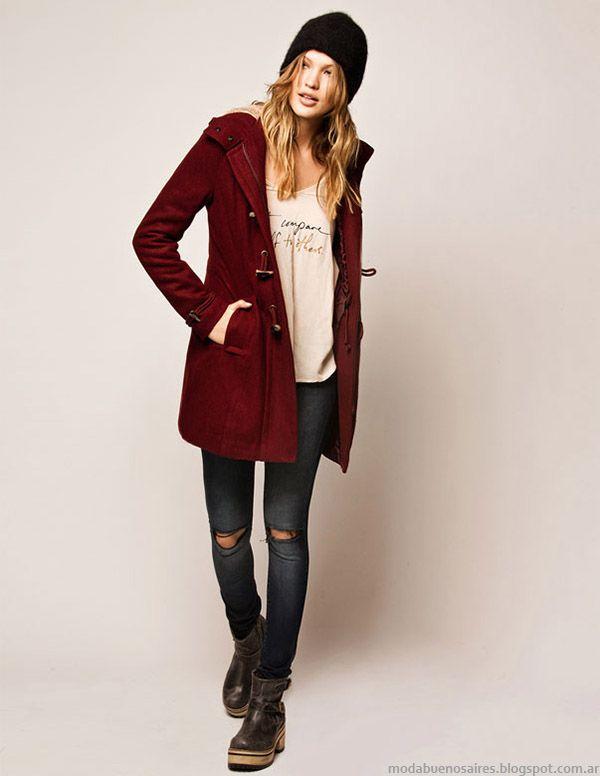 Moda urbana oto o invierno 2015 cuesta blanca ropa de for Moda premama invierno