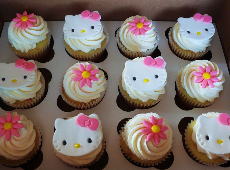 Delizious Bakery Hello Kitty Cupcakes