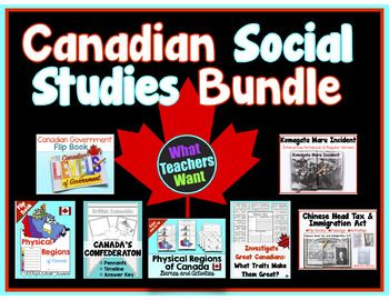 Canadian Social Studies - My Favourite Products at a Discount!