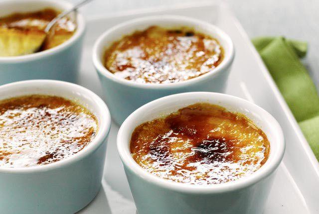 Crème catalane au thermomix recette facile et rapide