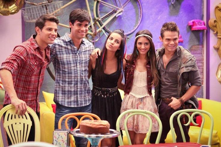 Rafael de la Fuente, Jesús Neyra, Maria Gabriela de Faría, Sol Rodriguez y Willy Martin