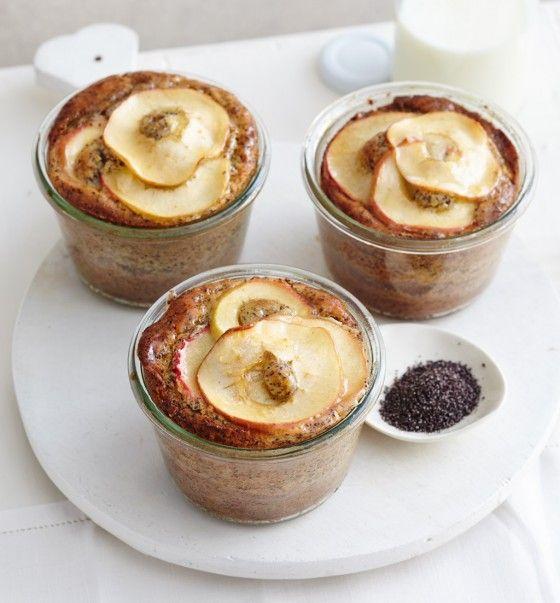 Apfel-Mohn-Schichtkuchen - Rezepte: Kleine Kuchen - 7 - [ESSEN & TRINKEN]