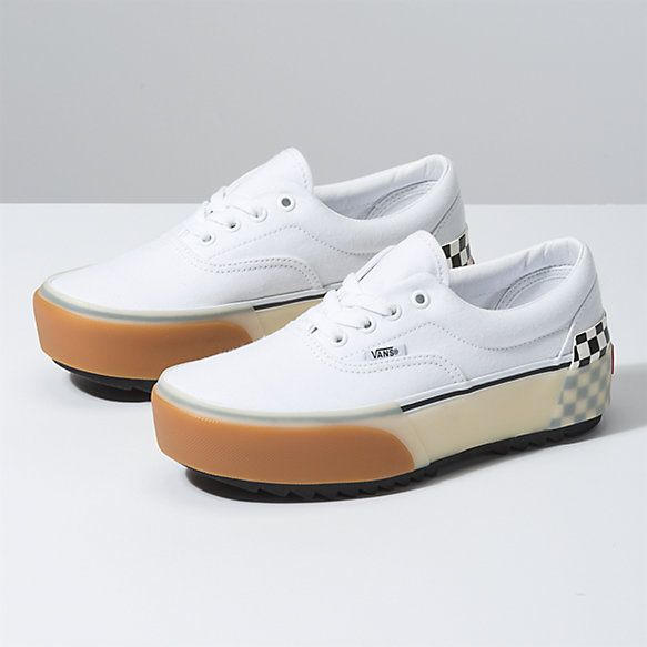 Suede Era Stacked | Shop Classic Shoes | Vans, Vans store ...