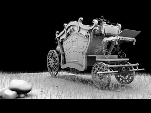 Carriage Modeling and Texturing Reel - YouTube