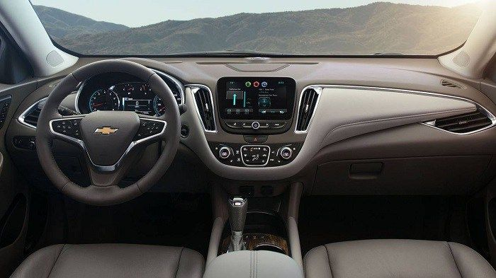 2019 Chevy Malibu Interior Dashboard Auto Trend Up Mid