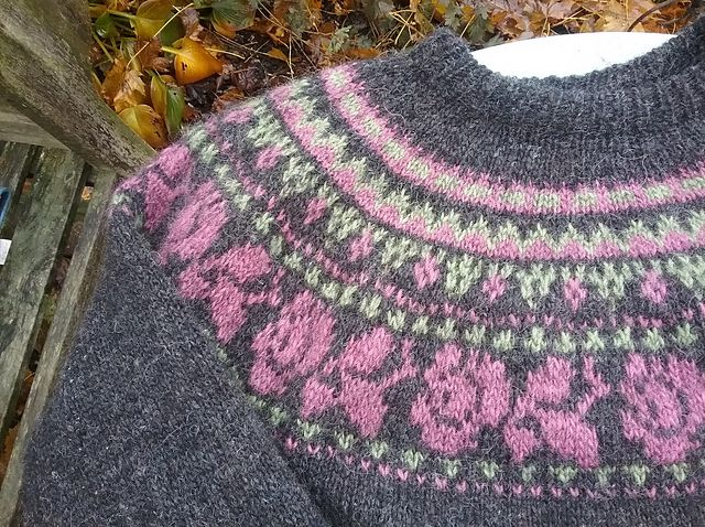 164 best Fair Isle or Stranded images on Pinterest | Fair isle ...