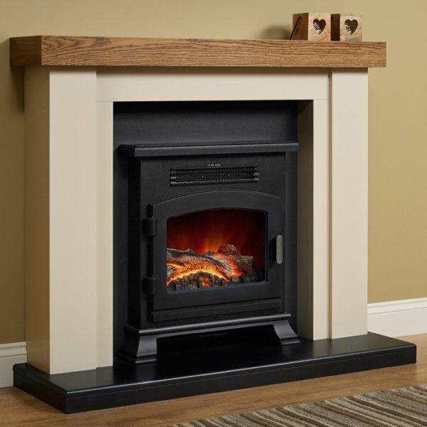 Elgin & Hall Bracken Electric Fireplace Suite
