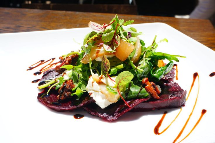 Alfie & Hetty's Roast Beetroot Salad is one of the dishes that just seems to win applause from the most critical of food reviewers to those simply in Glebe enjoying a lovely meal