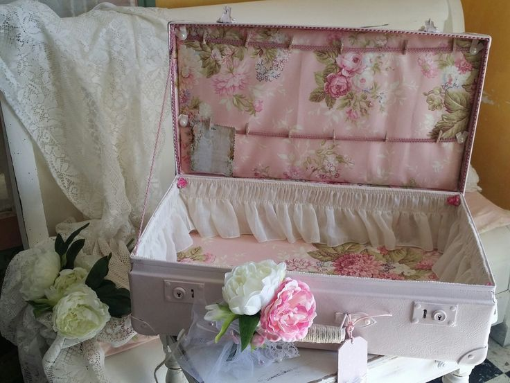 Plan de table mariage vintage style shabby chic bo tes for Boite shabby chic