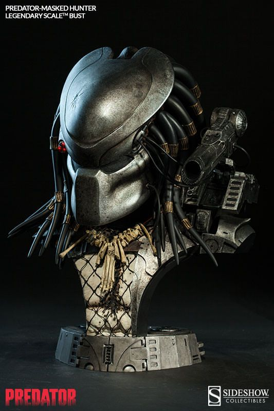 Pré-Encomenda:  Predator Legendary Scale Bust 1/2 Masked Hunter 43 cm  Para mais informações clica no seguinte link: http://buff.ly/1lswSZb  #ToyArt #SideshowCollectibles #Predator #Alien