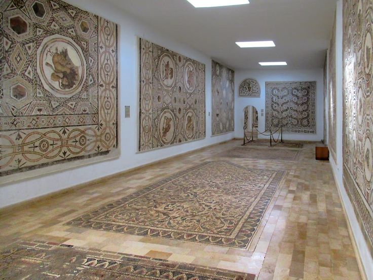The Archaeological Museum in El Djem has one of Tunisia's finest collections of Roman mosaics.