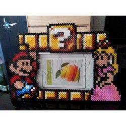 Marco Mario Bros con princesa