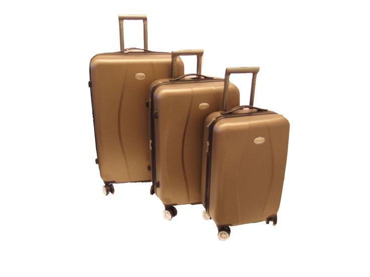 Cavalier-matkalaukut, 79€/89€/109€. 4-pyörää. Tummansininen, ruskea, ja tummanpunainen. 3 kokoa. NT-Bags, 2. krs.
