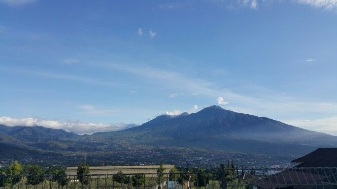 View from kusuma agrowisata hotel malang, jawa timur, indonesia