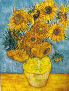 Los girasoles de Van Gogh Medidas: 29×37 cm. Precio: $398 (Mexico)