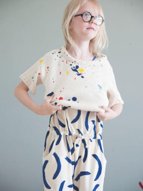 Le tricot de l'été par Babaà et Bobo Choses | MilK - Le magazine de mode enfant