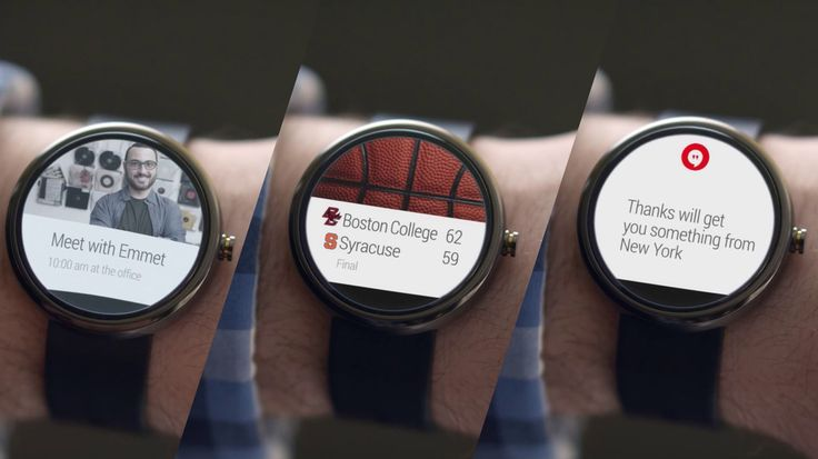 A closer look at Google's gorgeous smartwatches | The Verge
