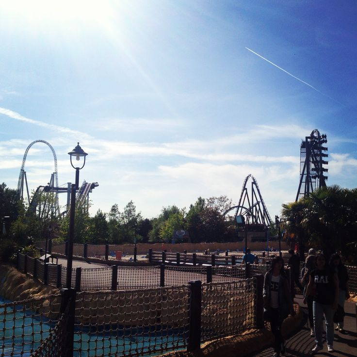 Thorpe Park - London June, 2013