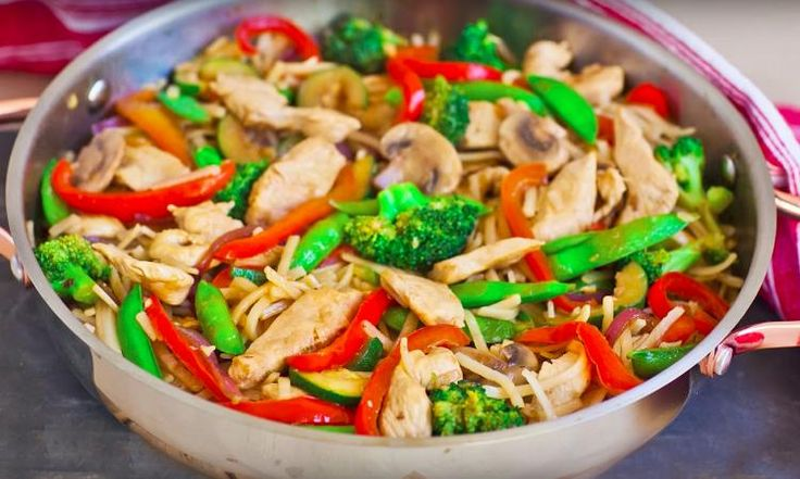 Vous ne saurez résister à mon sauté de poulet Teriyaki aux légumes!