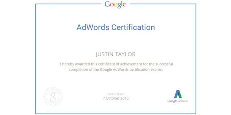 What does it mean to be Google #Adwords certified? Let me explain.