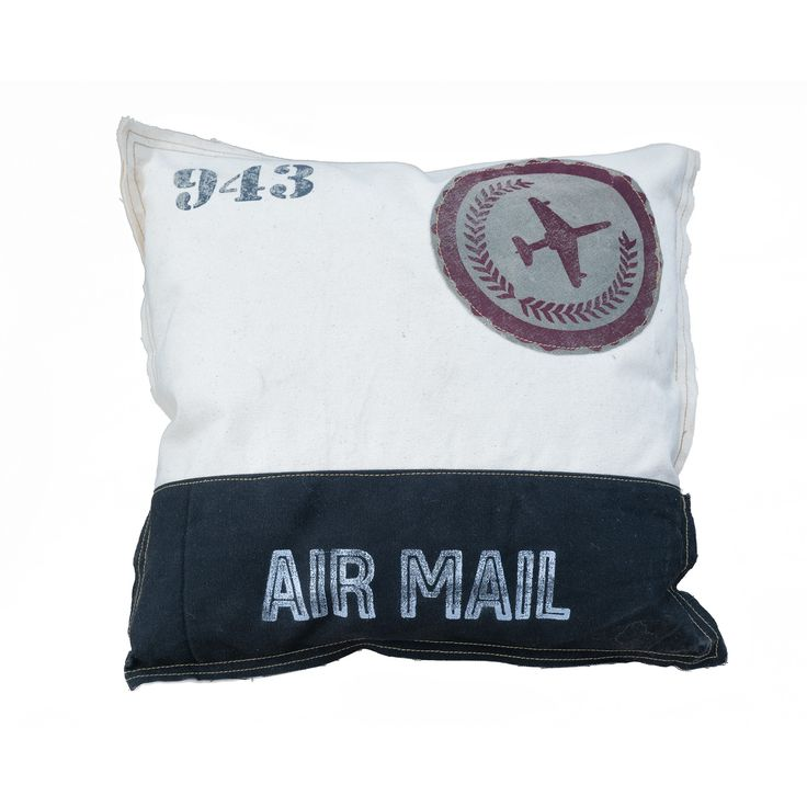 Cojin Vintage Air Mail