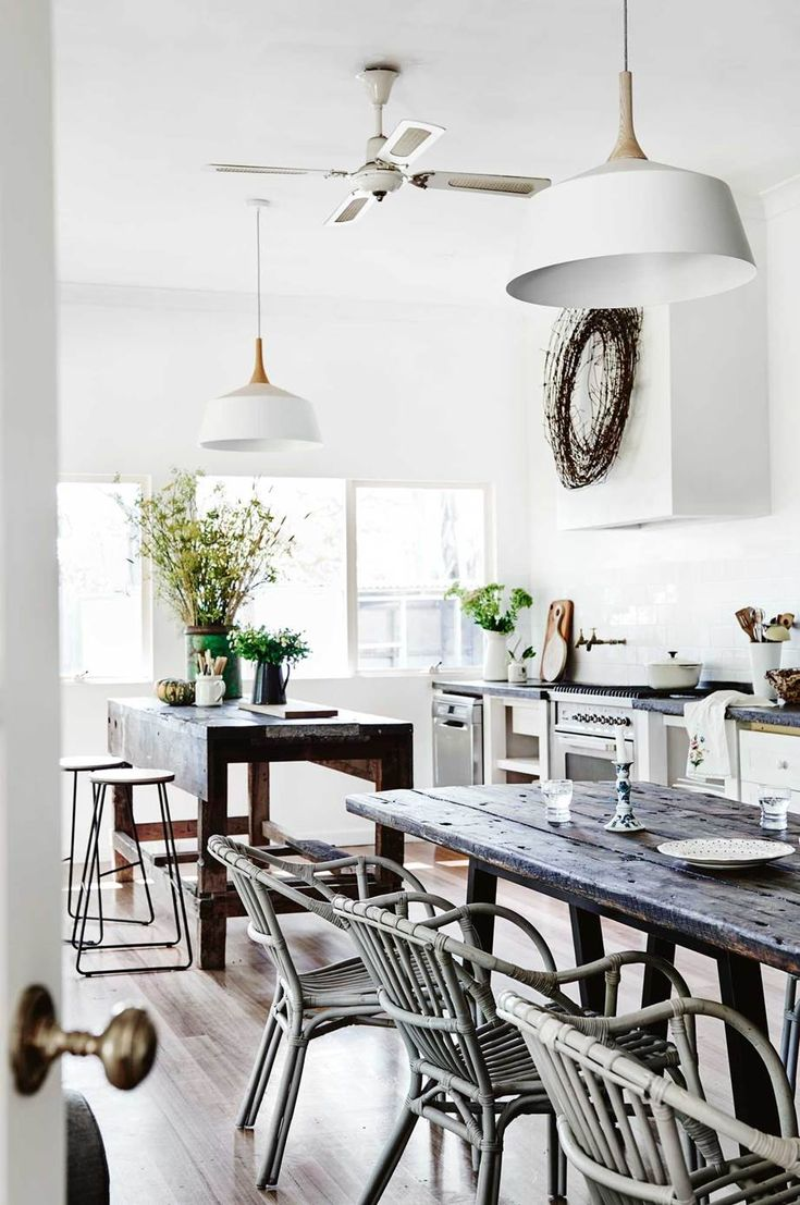 A 1930s farmhouse mixes old and new Home, Mediterranean