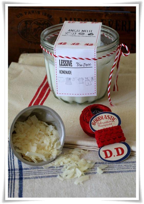 La recette d'Angel Mélie pour fabriquer soi-même sa lessive #savondemarseille #DIY #homemade