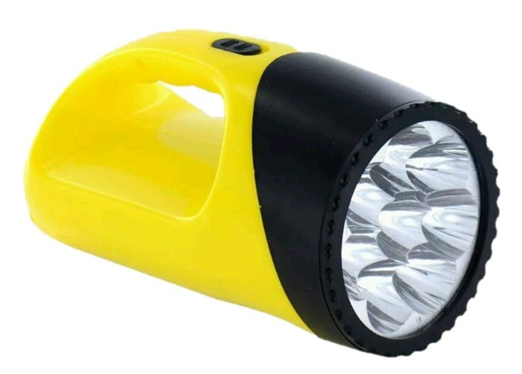 LED Torch Medium Sized Lightweight 8 LED Flash Light Torch Camping Torch | eBay