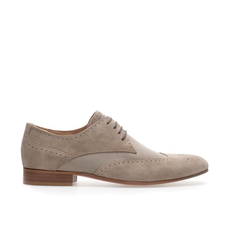 COMBINATION SPORT BLUCHER - Shoes - Man | ZARA United States
