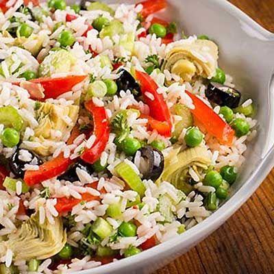 Italian Rice Salad Recipe from FarmerOwned.com