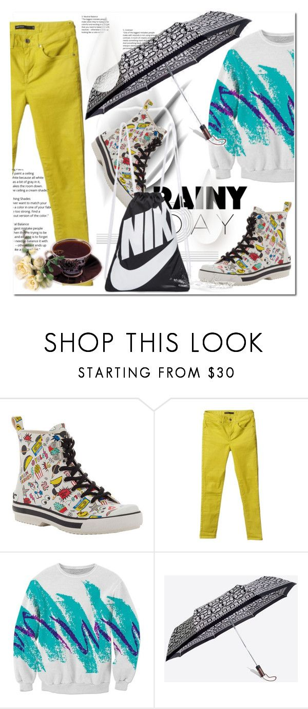 """""""Rainy Day"""" by ilona-828 ❤ liked on Polyvore featuring Rocket Dog, Karen Millen, Madewell, NIKE and rainyday"""
