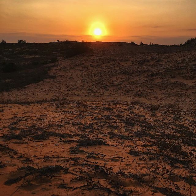 After the white sand dunes the red sand dunes  . . . #redsanddunes #desert #sunset #red  #muine #exploremuine #muinevietnam #vietnamtravel #vietnam #explorevietnam  #visitvietnam #vietnamtrip #ilovevietnam #travelvietnam #southeastasia #beautifulseasia #discover #wanderlust #worldphoto #travel #backpacking #globetrotter #visionofpictures #eatheacope #snapseed #shotoniphone #iphonepics #iphonephotography #phonetography