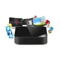 Energy Sistem® #ANDROID #SMART TV BOX Queremos que le saques el mayor partido a tu televisor. Conecta tu TV a Internet para navegar y disfrutar de tus webs, redes sociales y programas favoritos. ANDROID 4.0  Ice Cream Sandwich, permite la instalación de miles de aplicaciones y juegos para el sistema operativo Android™. Wi-Fi 802.11b/g/n integrado para máxima velocidad en tu conexión a Internet. Sintoniza y graba TDT en Alta Definición (MPEG-4 / H.264) Silencioso y compacto,