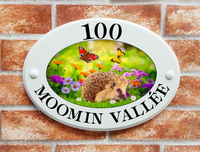 Click to See Next House Sign Image