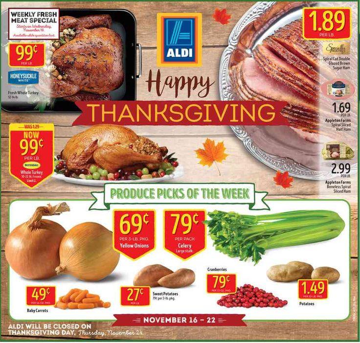 Aldi Weekly Ad November 16 - 22, 2016 - http://www.olcatalog.com/grocery/aldi-ad.html