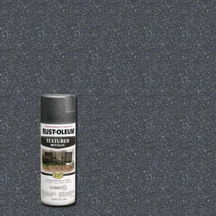 Rust oleum stops rust 12 oz protective enamel excalibur - Exterior textured paint home depot ...