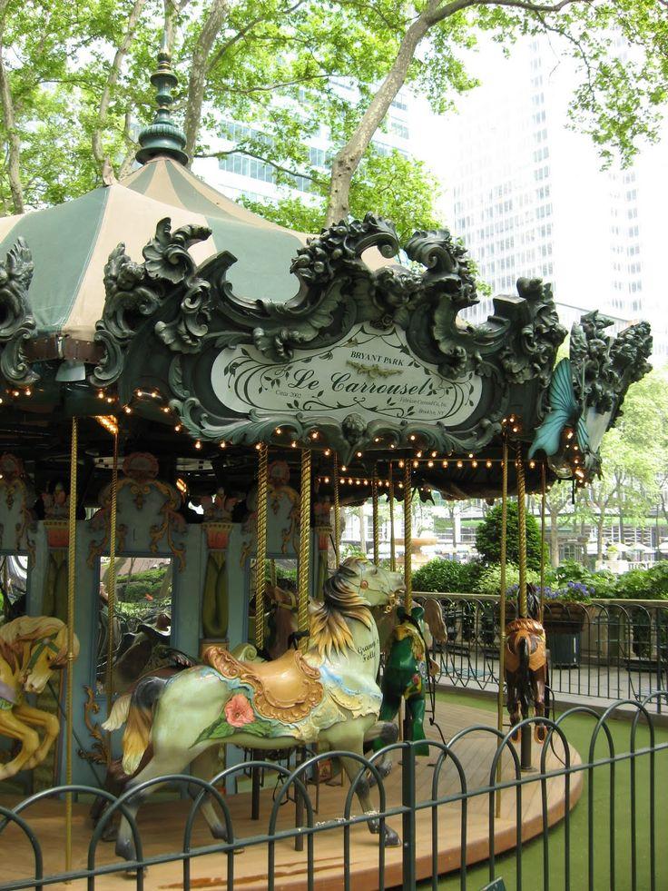 Bryant Park Carousel in New York City