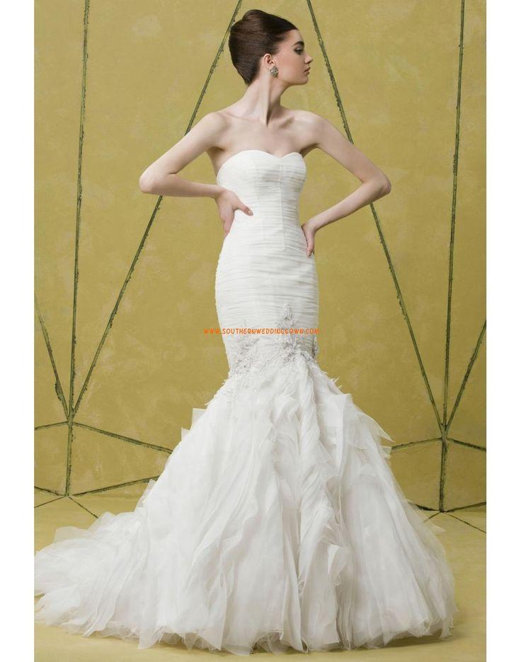 Scintillant & brillant Tulle Appliques Robes de mariée 2014