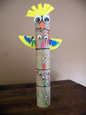 Totem Pole for T week