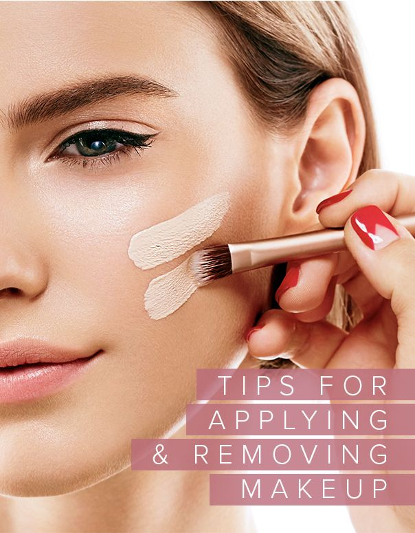 Top tip and the top tools for applying your makeup and removing it naturally.