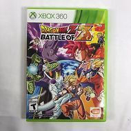 DRAGON BALL Z Xbox 360 Microsoft 2014 Action Video Game Disc And Case Rated Teen