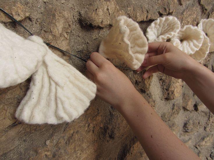 """Feltrosa 2013, Porchiano, Umbria - """"Spazio vitale"""" installation"""