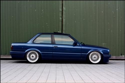 The Goal Of Getting It This Low Bmw E30 Bmw E30 Coupe Bmw
