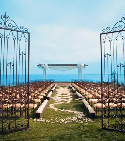 Wedding site in Rancho Palos Verdes, California