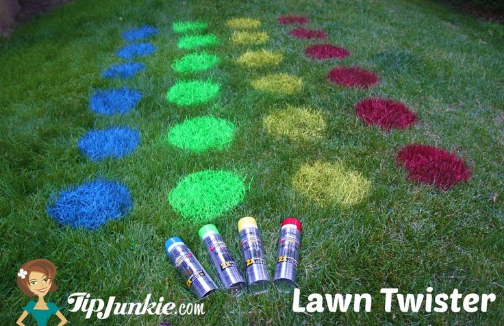Outdoor Lawn Twister Game... for the front yard?