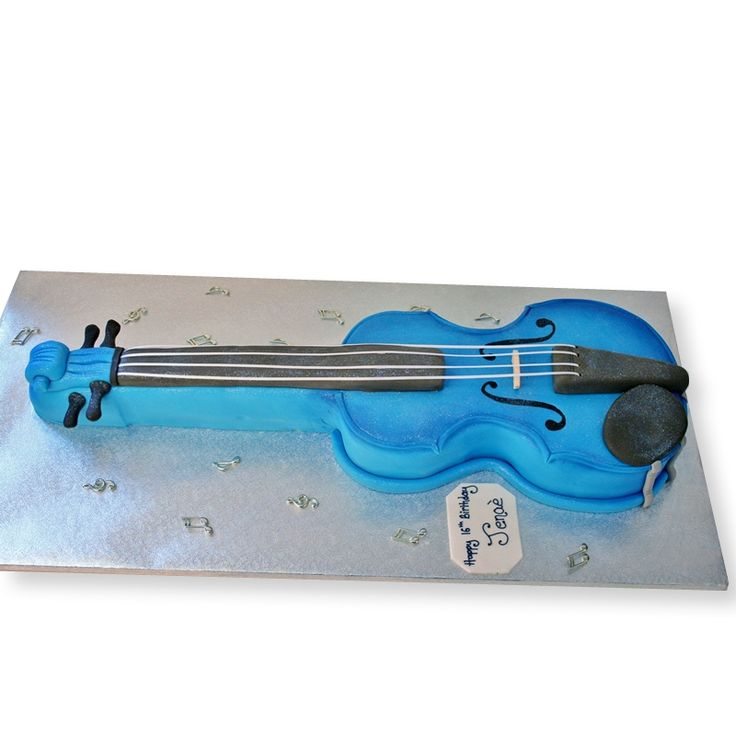 The Cake Store - Violin Cake, £145.00 (http://www.thecakestore.co.uk/violin-cake/)